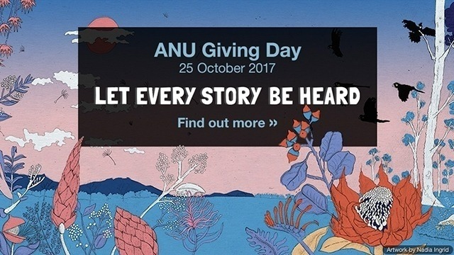 Indigenous ADB : Stories yet to be told - ANU Giving Day 2017