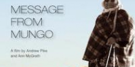 Congratulations Ann McGrath: Film 'Message from Mungo' shortlisted in the Atom Awards