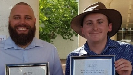 ANU School of History staff recognised at the 2018 CASS Teaching Awards