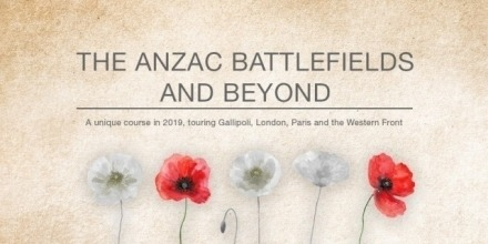 Applications Open for The Anzac Battlefield Study Tour 2020