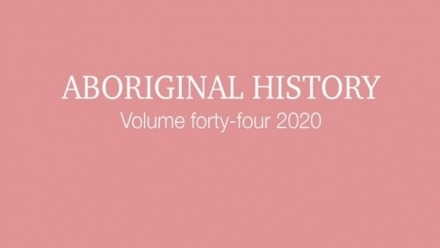 New volume of Aboriginal History published