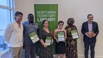 NT Award for 'The Bible in Buffalo Country'