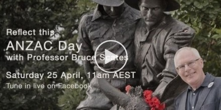 ANZAC Day with Professor Bruce Scates